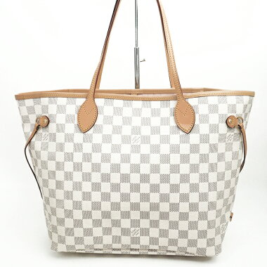 [New stock] [Used] [Almost new] Louis Vuitton Neverfull MM Damier Azur N41605 [Tote Bag]