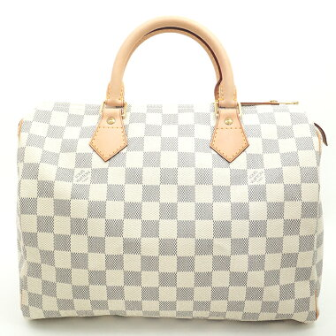 [New Arrival] [Used] [Almost New] Louis Vuitton Speedy 30 Damier Azur N41533 [Boston Bag]