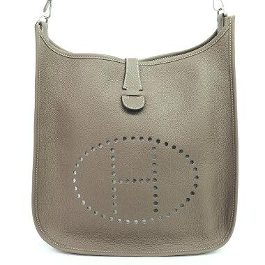 [GOODA] [New stock] [Used] IGMH logo punching shoulder Evelyn [shoulder bag]