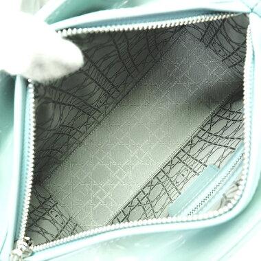 [GOODA] [New stock] [pre-owned] Classic Medium Kanage Stitch 2WAY shoulder bag silver hardware CLASSICCANNAGE Lady Dior VRB44551 [Handbag]