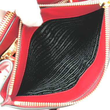 [GOODA] [New stock] [Pre-owned] [Almost new] Prada Paradigum bag top handle 2WAY shoulder bag gold metal fittings Saffiano City 1BA103 [Handbag]