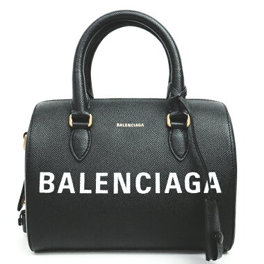 [GOODA] [New Products] [Pre-owned] [Beautiful] Balenciaga 2WAY Shoulder Bag Logo Print Bill Bowling Bag Antique Gold Hardware Ville 518872 [Handbag]