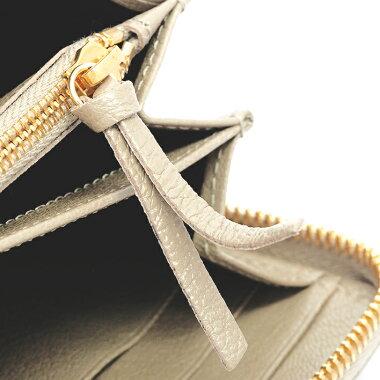 [Used] Balenciaga Metallic Edge Continental Zip Around Round Fastener Gold Hardware Classic 390187 ・ 2901 ・ B ・ 555583 [Long Wallet] [GOODA]