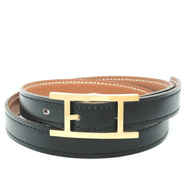 [Used] Hermes H Buckle Gold Hardware Api 3 Ladies Belt [Accessories/Miscellaneous Goods] [GOODA] [Similar to New]
