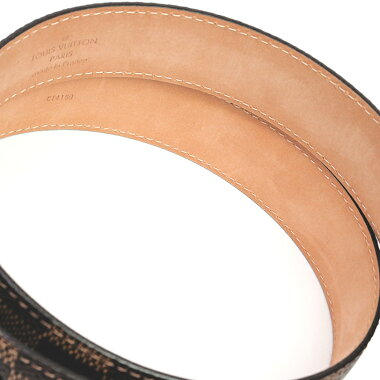 [Pre] Louis Vuitton Saint-Tulle Ellipse Damier M6995U Men's Belt [Accessories] [GOODA] [New]