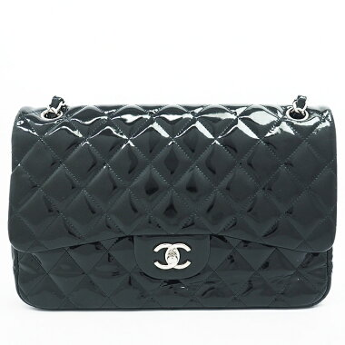 Chanel Deca Matasse W Flap W Chain Silver Hardware Matasse [Shoulder Bag] [Good Condition]