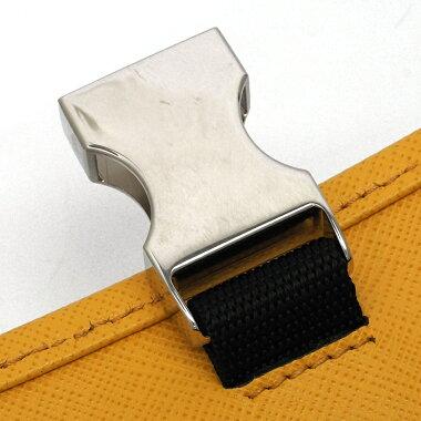 Prada Triangle Logo Silver Hardware Tesuto Saffiano 2NH011 [Clutch Bag] [Like New] [Used]