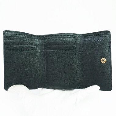 フルラL字ファスナーゴールド金具ロゴ【二つ折り財布】【新品同様】