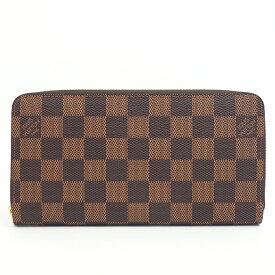 【新品同様】ルイ ヴィトン ジッピー・ウォレット 旧型 ダミエ N60015 レディース【長財布】