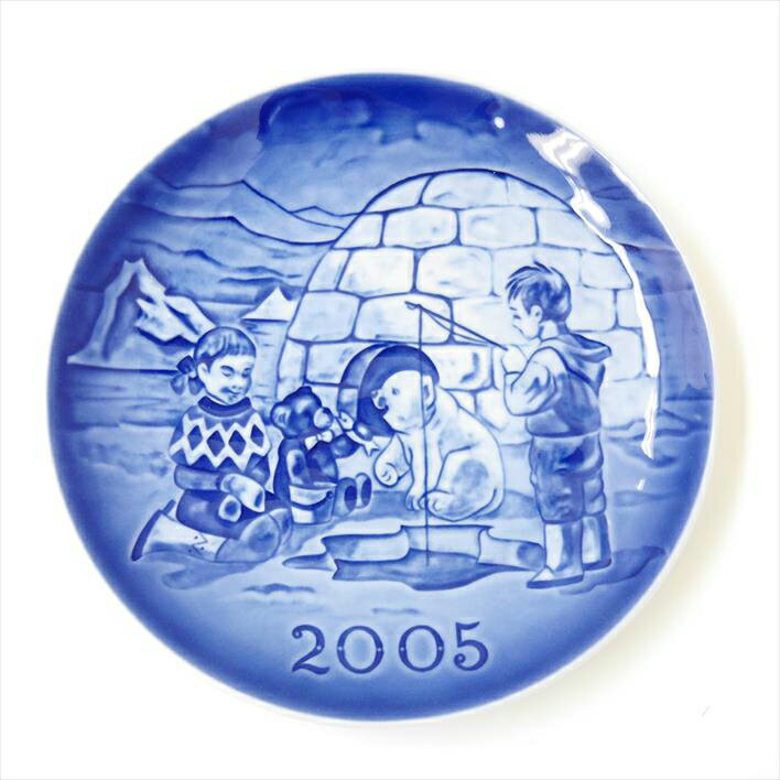 Royal Copenhagen ロイヤルコペンハーゲン ミレニアム プレート 2005年版 【中古】食器
