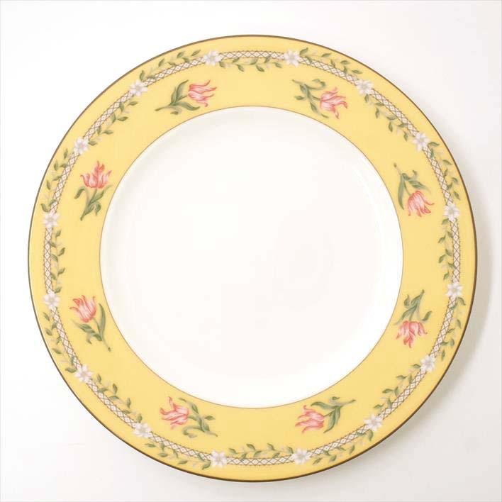 【未使用】Tiffany & Co. ティファニー ピンクチューリップ プレート2枚セット【中古】食器