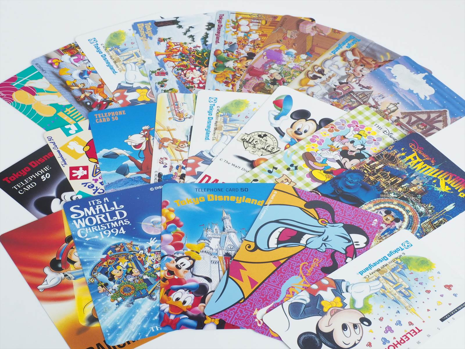 セット販売 テレホンカード ディズニー 未使用 テレカ