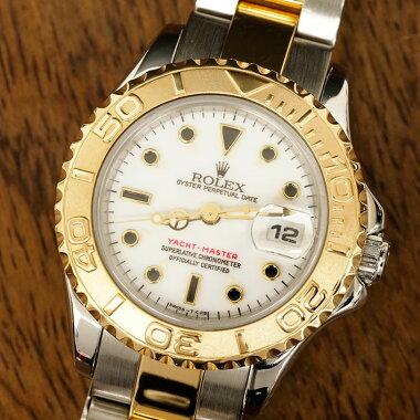 ロレックスROLEXオイスターパーペチュアルデイトヨットマスター腕時計中古