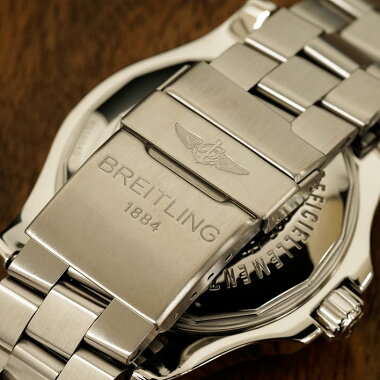 Breitling BREITLING Super Ocean Steel Fish Wrist Watch Used