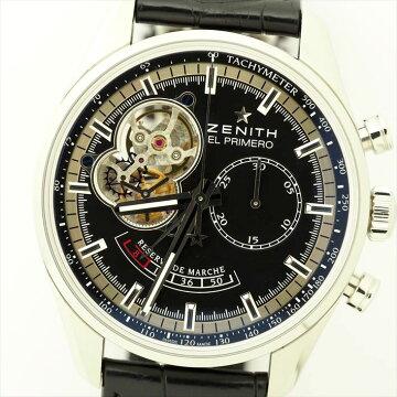 ZENITHゼニスクロノマスターオープンパワーリザーブ腕時計中古