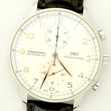 IWC Portuguese Chrono Wrist Watch Used