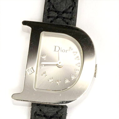 [Points 3 times] ChristianDiorCD101111EL4902 watch used