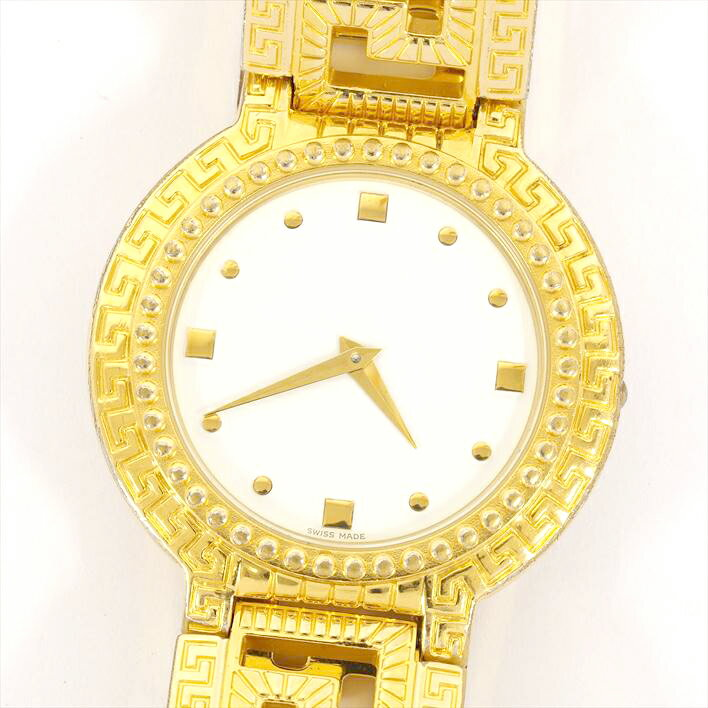 VERSACE ヴェルサーチ メデューザコインウォッチ 7008003【中古】ユニセックス/男女兼用 腕時計