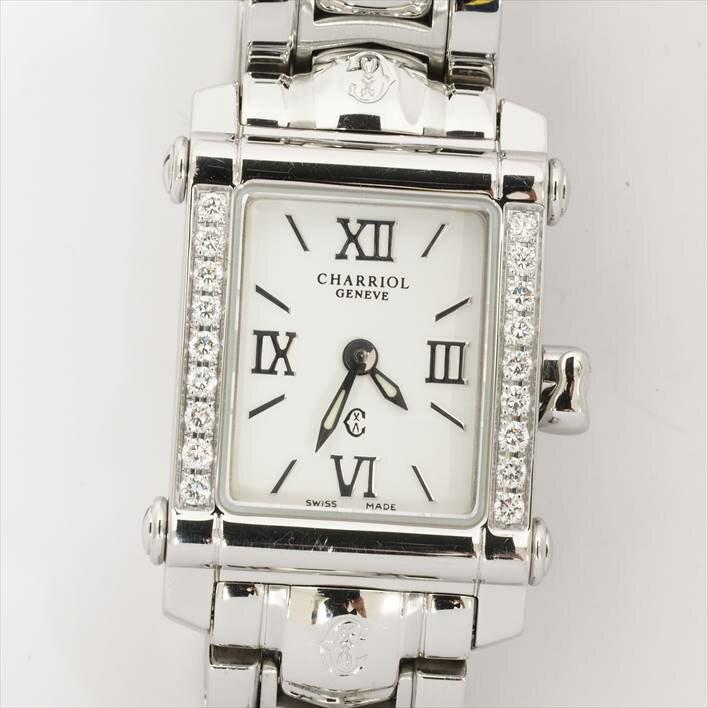 シャリオール コロンブス Ref. CCSTRD レディース CHARRIOL COLVMBVS【中古】【腕時計】 ギフト プレゼント 父の日