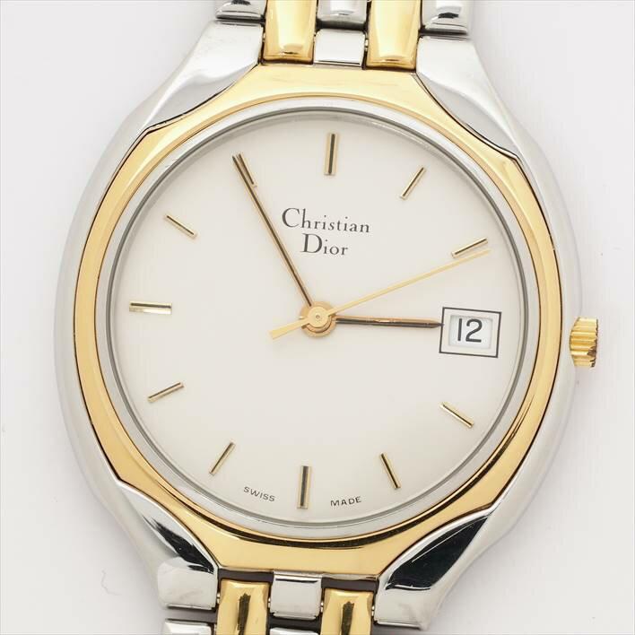 【オーバーホール済み】Christian Dior ディオール【中古】ユニセックス/男女兼用 腕時計