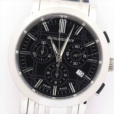 Burberry Burberry Heritage Chronograph Bu1366 [pre-owned]