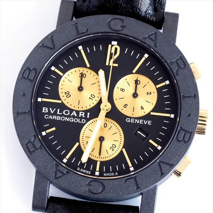 BVLGARI ブルガリ ブルガリ ブルガリ クロノ BB38 CL CH【中古】メンズ 腕時計