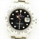 【新品仕上げ済み】ROLEX ロレックス エクスプローラーII F635661(2003年製造) 腕時計 【中古】