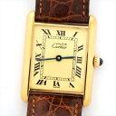 Cartier カルティエ マストタンク ヴェルメイユ 162270 590005 腕時計 【中古】