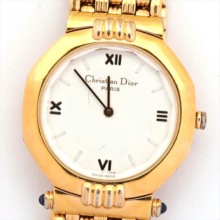 【中古】ディオール スウィング ドレス Ref. 63151 メンズ Christian Dior SWING DRESS【腕時計】 ギフト プレゼント ギフト プレゼント