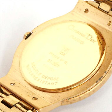 ChristianDior Dior Model Depose Moon Phase 423962 Watch [Used]
