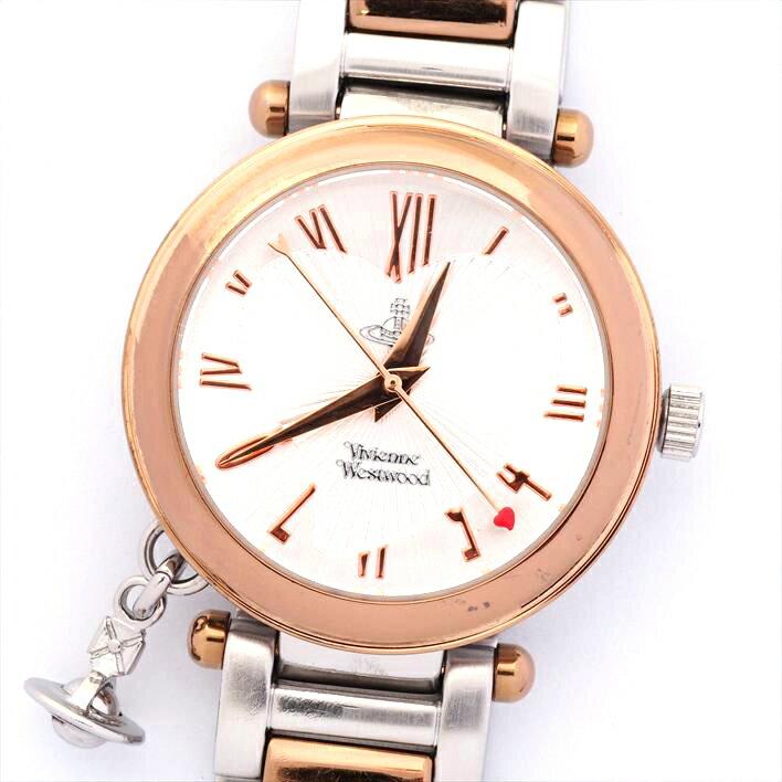 Vivienne Westwood ヴィヴィアン VV006RSSL 【中古】 腕時計