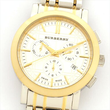 Burberry Burberry Heritage Chronograph Bu137426021 [pre-owned] watch