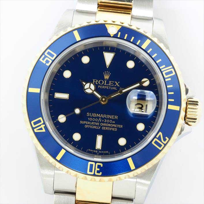 【オーバーホール・新品仕上げ済み】ROLEX ロレックス サブマリーナ 16613 Z443447(2006年製造)【中古】腕時計
