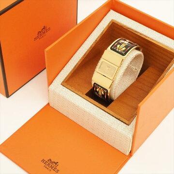 【オーバーホール済み】HERMESエルメスロケL01.2011063489【中古】腕時計