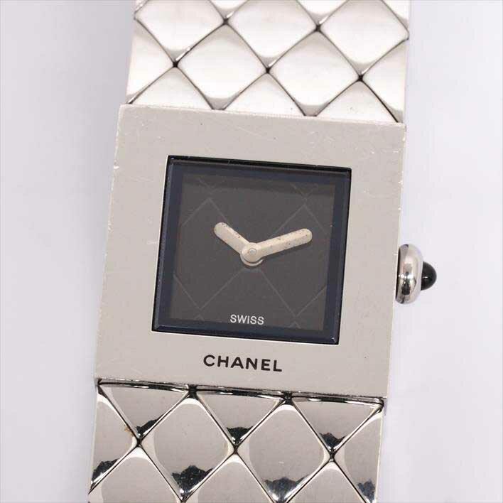 シャネル マトラッセ レディース CHANEL MATELASSE【中古】【腕時計】 ギフト プレゼント