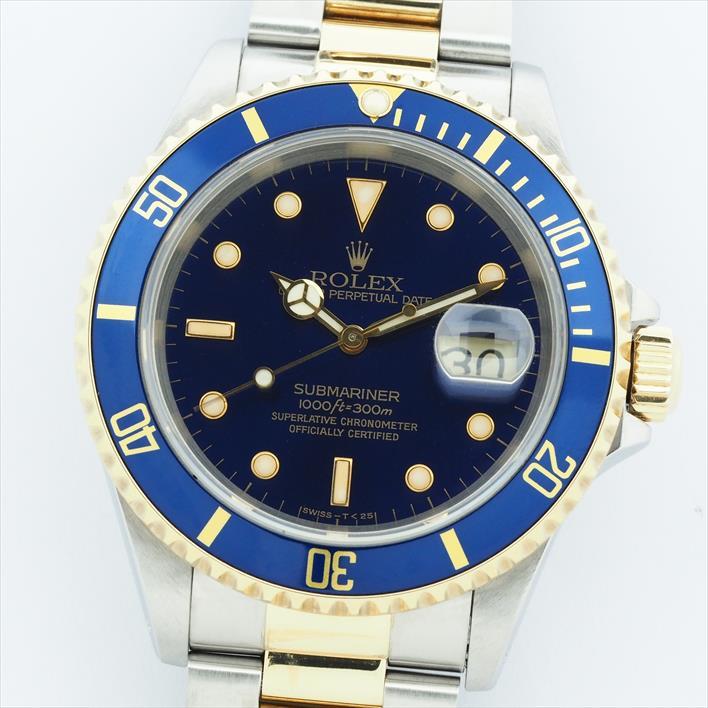 【オーバーホール・新品仕上げ済み】ROLEX ロレックス サブマリーナ 16613 E457607(1991年製造)【中古】腕時計