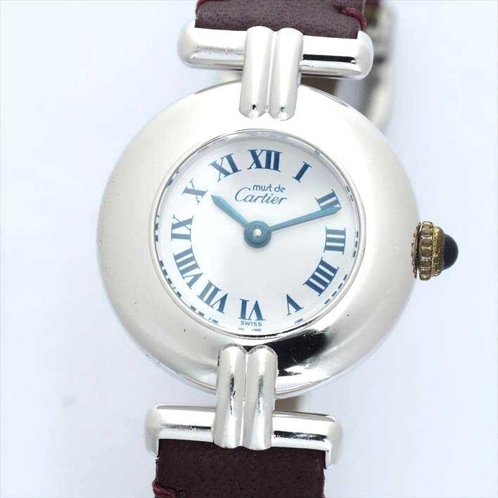 Cartier カルティエ マストコリゼ W1001665【中古】レディース 腕時計