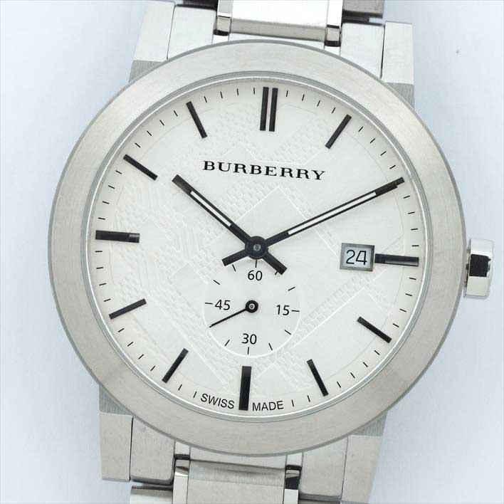 Burberry バーバリー ザ・シティ BU9900 14227【中古】腕時計