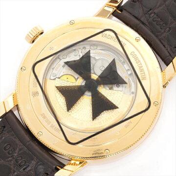 【新古品】VacheronConstantinヴァシュロン・コンスタンタンパトリモニートラディショナルワールドタイム86060/000R-9640【中古】メンズ腕時計
