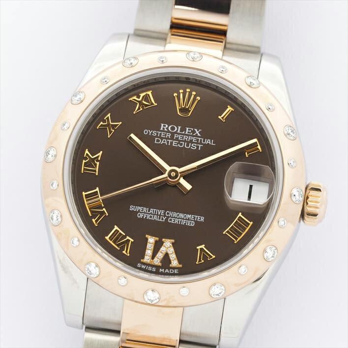 【オーバーホール・新品仕上げ済み】ROLEX ロレックス デイトジャスト 178341【中古】男女兼用 腕時計 バレンタインデー ギフト