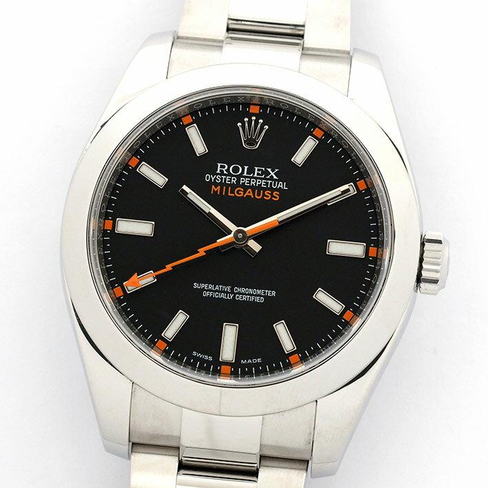 ロレックス ミルガウス Ref. 116400 メンズ ROLEX MILGAUSS【中古】【腕時計】