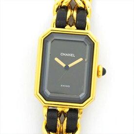 シャネル 腕時計 プルミエール M レディース CHANEL Premiere M SS レザー ブランド CHANEL ギフト プレゼント 送料無料 中古 ご褒美 秋