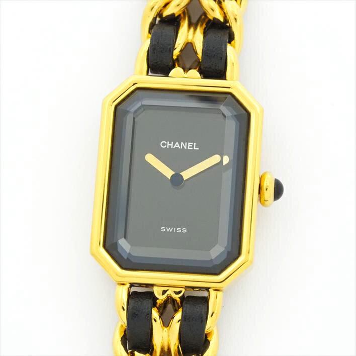 【オーバーホール済み】CHANEL シャネル プルミエール L 【中古】レディース 腕時計