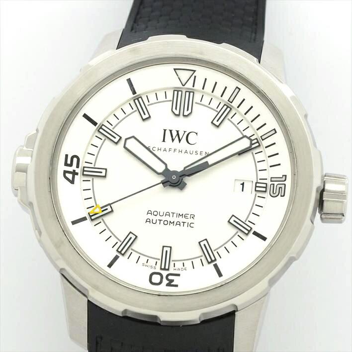 【オーバーホール・新品仕上げ済み】IWC インターナショナル・ウォッチ・カンパニー アクアタイマー IW329003【中古】メンズ 腕時計 ホワイトデー ギフト プレゼント
