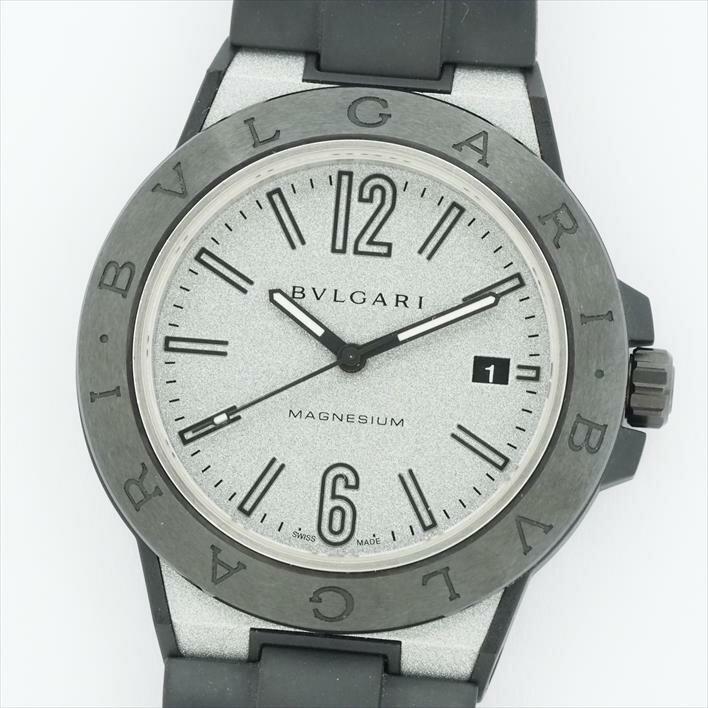【オーバーホール済み】BVLGARI ブルガリ ディアゴノ マグネシウム DG41SMC(DG41C6SMCVD)【中古】メンズ 腕時計 バレンタインデー ギフト