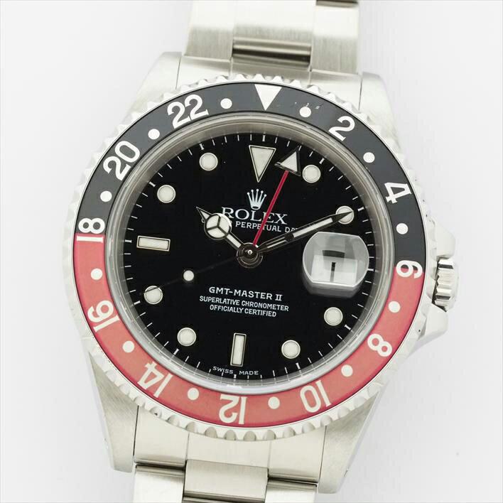 ロレックス GMTマスターII Ref. 16710 メンズ ROLEX GMT-MASTER II【中古】【腕時計】 ギフト プレゼント