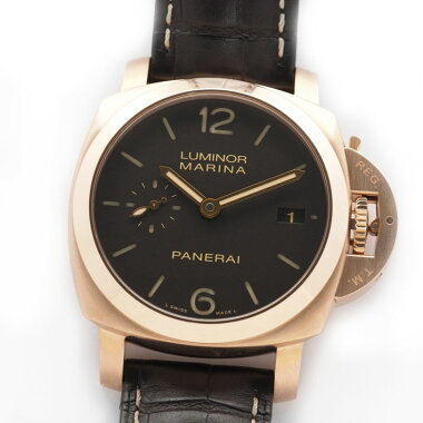 [Overhaul · New Finished] PANERAI Panerai Lminor Marina 19503 Days Automatic PAM 00393 [pre-owned] Men's Watch