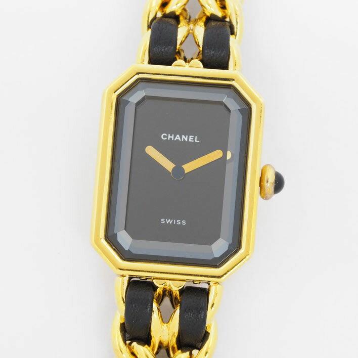 【オーバーホール済み】CHANEL シャネル プルミエール M 【中古】レディース 腕時計