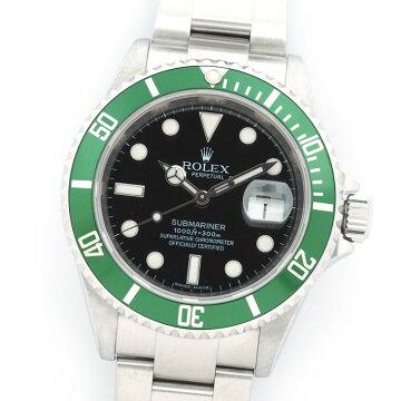【オーバーホール・新品仕上げ済み】ROLEXロレックスサブマリーナ16610LV【中古】メンズ腕時計