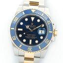 【中古】ロレックス サブマリーナ Ref. 116613LB メンズ ROLEX SUBMARINER【腕時計】 ギフト プレゼント ギフト プレ…